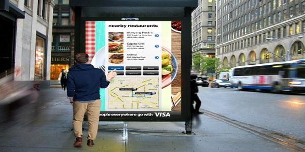 outdoor digital signage display
